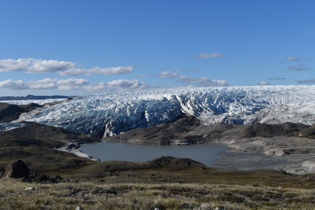 Cientistas descobriram um antigo leito de lago bem abaixo do gelo da Groenlândia