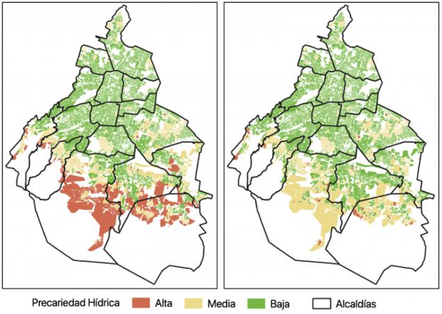 maps of water precarity