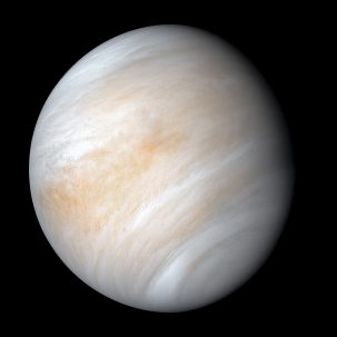 image of venus from space