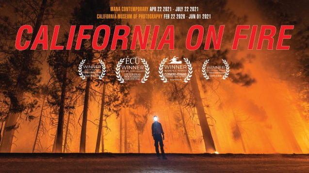 'california on fire' film poster