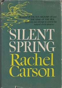 Cover of Silent Spring by Rachel Carson. Wikipedia