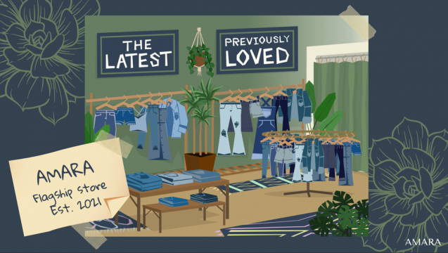 illustration of what an amara store could look like