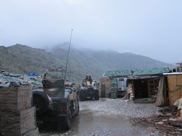 Two of the ground transport vehicles used in the valley.