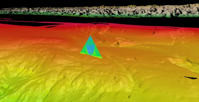 methane seep off coast of oregon