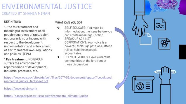 Environmental Justice Inforgraphic