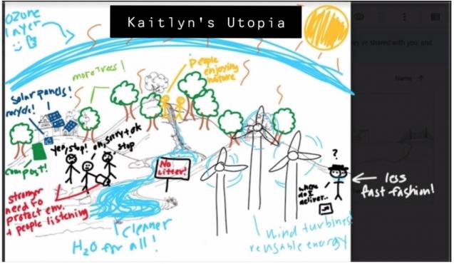 Kaitlyn Canivel's utopian society
