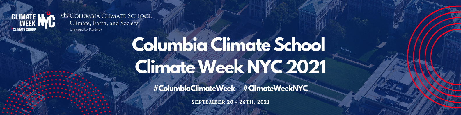 Columbia Climate School Climate Week 2021